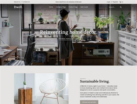 Ecommerce Templates by Volusion | SEO Friendly Free Template or ...