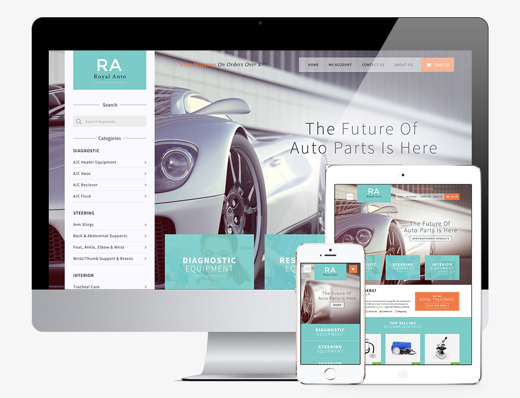 Breathtaking ecommerce templates